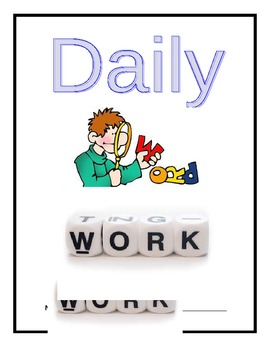 Daily Word Work Cover