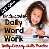Daily Phonics and Phonemic Awareness for Kindergarten Set 1