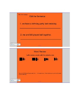 Daily Word and Language Review Week 1