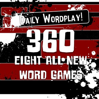 Daily Wordplay 360! Full Year of Fun Word Game Bellringers