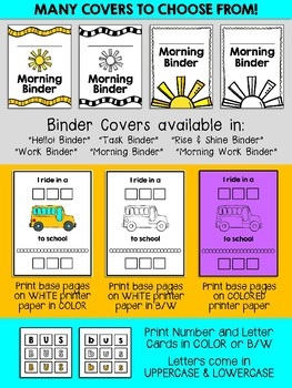 Daily Work Binders: Skill Building Binder for Special Education