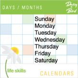 Calendars  Days / Months