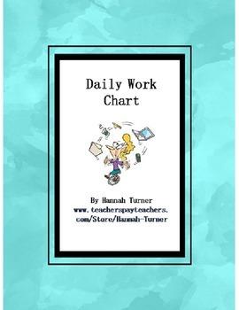 Daily Work Chart