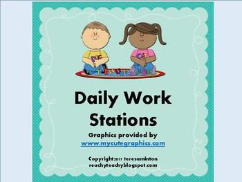 Daily Work Stations