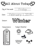 Daily Worksheet - Traceable Dates - 2019February