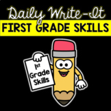 First Grade Sentence Writing Activity: Daily Writing Routi