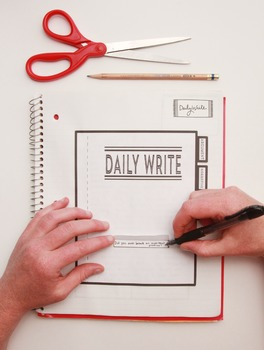 Daily Writes - an interactive creative writing activity