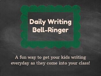Daily Writing Bell-Ringer