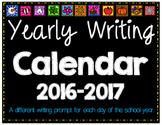 Daily Writing Calendar: Back to school