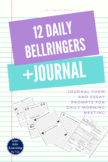 Daily Bellringers - Writing Activity with NOPREP Journal Page and 10 Prompts