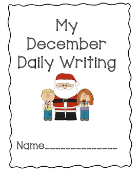 Daily Writing Journal: December