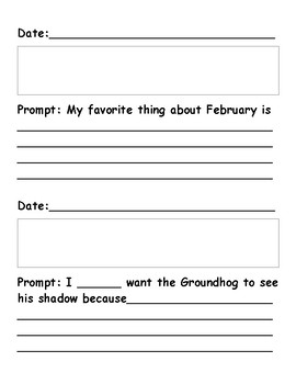 Daily Writing Journal - February