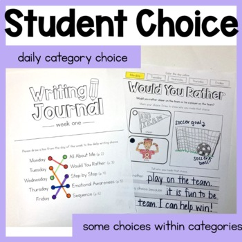 Daily Writing Journal   First Grade   Full Academic Year