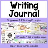 Daily Writing Journal | First Grade | Full Academic Year