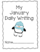 Daily Writing Journal: January