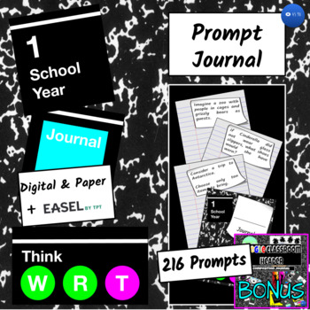 Daily Writing Journal for the School Year (3-5)