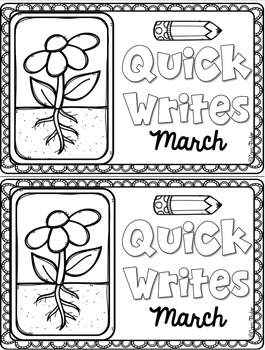 Daily Writing Journals March
