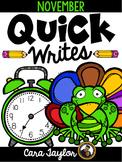 Daily Writing Journals November