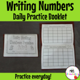 Daily Writing Numbers Practice Booklet