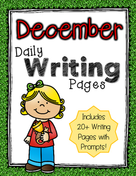 Daily Writing Pages: December