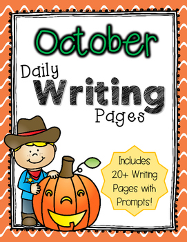 Daily Writing Pages: October