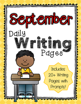 Daily Writing Pages: September
