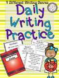 Daily Writing Practice: Beginning of the Year