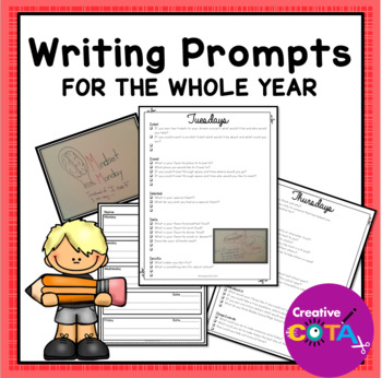 Daily Writing Prompts All Year