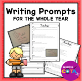 Daily Writing Prompt Activities for the Year