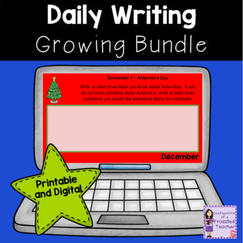 Daily Writing Prompts...A Growing Bundle