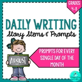 Daily Writing Prompts - AUGUST