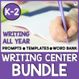Daily Writing Prompts And Centers 1st Grade
