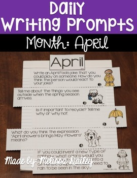 Daily Writing Prompts {April}