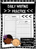 Daily Writing Prompts   Daily Writing Practice