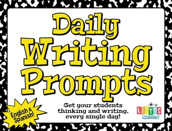 DAILY WRITING PROMPTS - English & Spanish