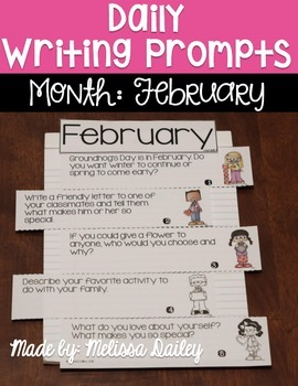 Daily Writing Prompts {February}