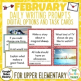 Daily Writing Prompts February/Valentines Day/Black History USA