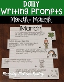 Daily Writing Prompts {March}