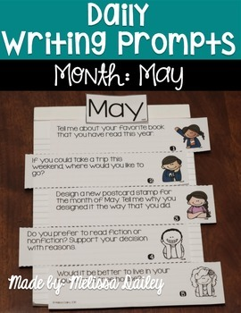 Daily Writing Prompts {May}