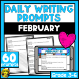 February Writing Prompts | Paper or Digital