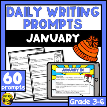 Daily Writing Prompts-January