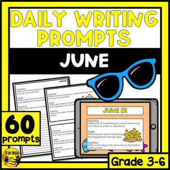 Daily Writing Prompts-June