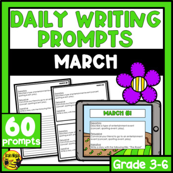Daily Writing Prompts-March