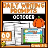 October Writing Prompts | Paper or Digital