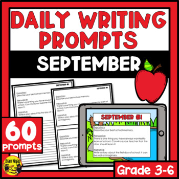 Daily Writing Prompts- September