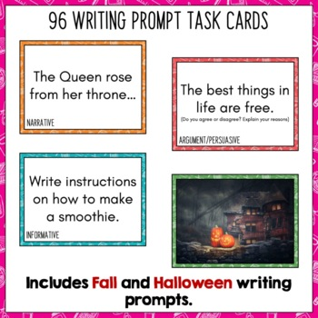 Daily Writing Prompts for October