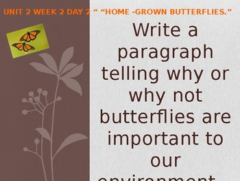 Daily Writing Prompts Treasures U2W2