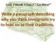 Daily Writing Prompts Treasures U2W3