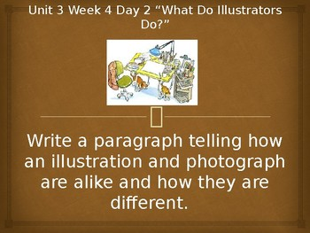 Daily Writing Prompts Treasures U3W4