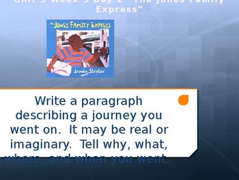 Daily Writing Prompts Treasures U3W5